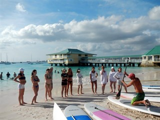 Sup Lessons on the beach